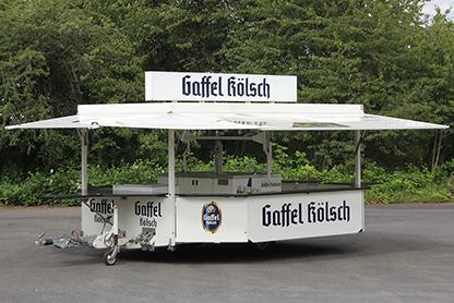 Ausschank-Pavillon Gaffel